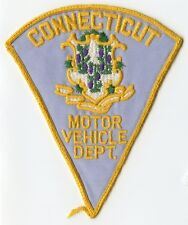 1960's Connecticut Motor Vehicle Department Patch