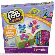 Fab Effex Art Create Decorate With Fabulous Formable Fabric Shape Wrap Stick It
