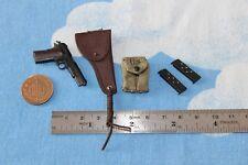 Dragón en sueños 1:6TH escala DID Segunda Guerra Mundial EE. UU. 77th Infantería Capitán Pistola & Funda