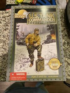 WW2 The Ultimate Soldier 1/6 Scale - U.S. Tank Commander  WWII