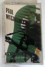 PAUL McCARTNEY - UNPLUGGED - Musicassetta Sigillata MC K7