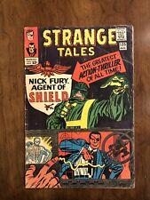 Strange Tales #135 VG- 3.5 First Nick Fury Agent of SHIELD! B@@yah!