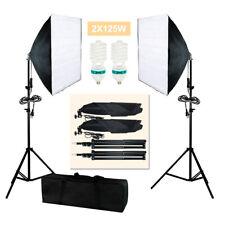 2Pcs Photography Lighting Softbox Photo Equipment Soft Studio Kit Us Seller