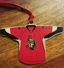 NHL Ottawa Senators jersey christmas ornement/tag