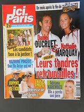 ►ICI PARIS 3133 DUCRUET  AMANDA LEAR -GILBERT MONTAGNE -JEAN MARC BARR - PINGEOT