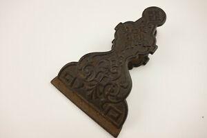 Antique Cast Iron Eastlake Letter Paper clip Desk Item Pat Oct. 1872