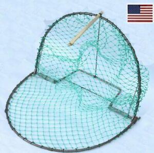 "Effective Medium Bird Trap Sensitive Humane Trapping Hunting 16"" Cage Net"