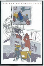 Allemagne RFA Bloc N°40 Obl (FU) 1er jour 17/09/1997 Berlin - Journée du timbre