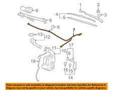Pontiac GM OEM 05-09 G6 Wiper Washer-Windshield-Washer Hose 15225545