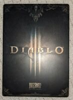 *MINT* DIABLO III 3 STEELBOOK ONLY NO GAME DISC - G1 SIZE