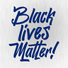 BLACK LIVES MATTER George Floyd Breathe Blau Auto Vinyl Decal Sticker Aufkleber