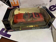 Anson 1/18 Scale Ferrari 328 GTS 30308w Convertible Red Die Cast Metal Rare 1:18