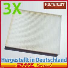 3x Filteristen Innenraumfilter Pollenfilter Audi Q7 VW Multivan Transporter T5