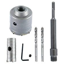 65mm +30mm SDS Plus Shank Hole Saw Cutter Concrete Cement Stone Wall Drill Bit
