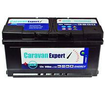 Wohnmobilbatterie Wohnwagenbatterie  140Ah AGM Caravan Versorgungsbatterie 12v