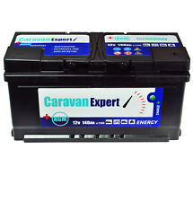 140Ah AGM Caravan Wohnmobil 12V Wartungsfrei Batterie STATT 110Ah 120Ah GEL 100