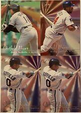 New listing 4 CARD LOT 1995 FLAIR @ OUTFIELD POWER # 2 8 9 KIRBY PUCKETT GARY SHEFFIELD