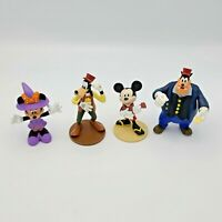 Lot of Disney Mickey Minnie Mouse Goofy Pete Figures