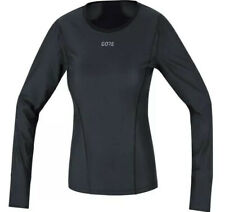 New Gore Wear Windstopper Base Layer Thermo Long-Sleeve Shirt  Small Black Women