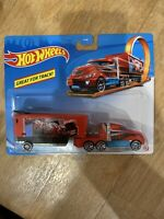 Hot Wheels Rare Hiway Hauler Red 2019  Great For Track Mattel Brand New