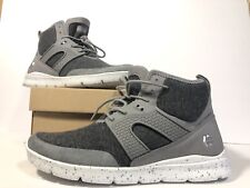 New Etnies Beta Grey Charcoal Synthetic High Top Sneakers Shoes - Women's Sz 8.5
