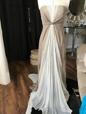 Silk crepe Coast Couture Evening Or Party Dress size 10
