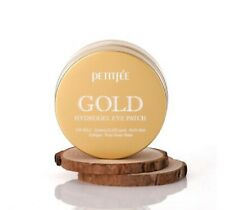 {PETITFEE} GOLD Hydrogel Eye Patch [1.4g x 60EA] - Korea Cosmetic