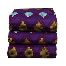 1-6yard African Batik Fabric Wax Printing Patchwork for Clothing Sewing Material