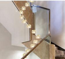 10 LED Stair Pendant Light Dining Room Chandelier Fixtures Lighting Ceiling Lamp