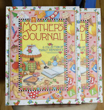 A Mother'S Journal By Mary Englebreit (Lot Of 2) Hard Cover *New