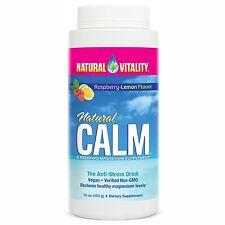 Natural Calm-Organic Raspberry-Sapore di Limone - (453 G) - Natural Vitality