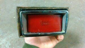 OEM 1970 FORD MUSTANG SIDE MARKER LIGHT COMPLETE ASSEMBLY LH rear quarter panel