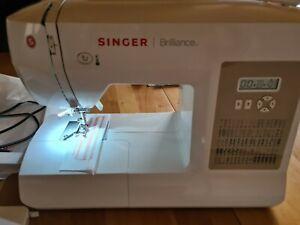 Singer Nähmaschine Brilliance 6180 mit Kassenbon  und Garantie