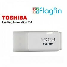 16gb USB Flash Drive USB Pen Drive Toshiba TransMemory New Retail Pack - White