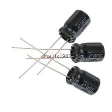Condensateur 16V 330UF électrolytique radial 8x11.5mm Samwha lot de 30