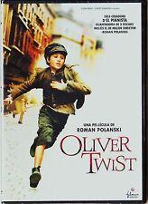 Roman Polanski: OLIVER TWIST (carátula en catalán). Edición de diarios.