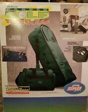 Skb Soft Shell Padded Rolling Golf Travel Bag Case w/ Wheels Black New! $110 Ret