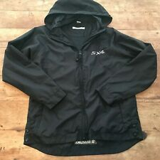 Suzuki SX4 Chestnut Hill Men's Size Small Black Hooded Zip up Jacket Rare