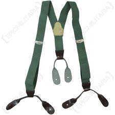Czech Surplus Braces - Army Surplus Military Trouser Suspenders Soldier Uniform