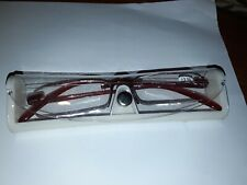 QUALITY LADIES  READING GLASSES 3.50 NEW IN PACK WITH CASE