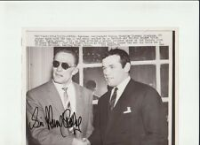 SIR HENRY COOPER BOXER AUTHENTIC ORIGINAL 9x7 AUTOGRAPHED WIRE PHOTO