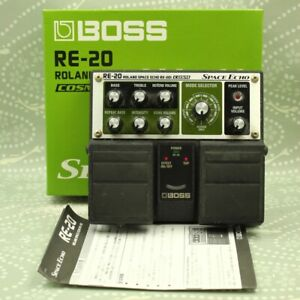 BOSS RE-20 Space Echo With original box Guitar effect pedal (ZV60552)