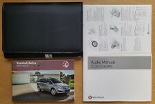 GENUINE VAUXHALL ZAFIRA B OWNERS MANUAL HANDBOOK 2009-2014 PACK C-157