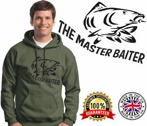 Carp Fishing Hoodie Carping Hoody Quality Brands Master Baiter Spod Master