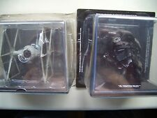 SWH04 IMPERIAL TIE FIGHTER + TIE PILOT BUST STAR WARS MODEL NEW EMPIRE