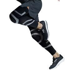 Kuangmi Sports Compression Leg Sleeve Running Cycling Knee Brace Warmer Size L