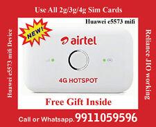 DD18 Airtel Huawei E 5573cs-609 Airtel 4G LTE 150 MBps Wi-Fi Modem (White)