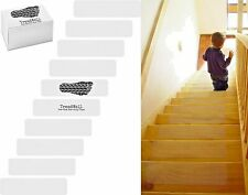 """5-PACK Pre Cut Anti Slip Stair Treads CLEAR Stair Strips Safety Stairs 6""""x24"""""""