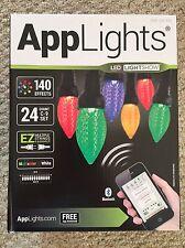 1 Box 24 LED App C9 String Lights Wedding Christmas Lightshow Gemmy 140 Effect