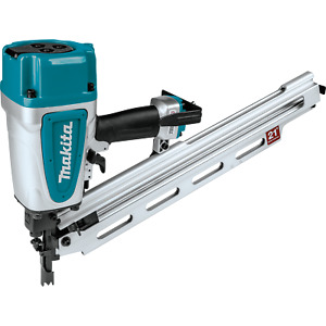 "Makita AN924-R 21º Full Round Head 3‑1/2"" Framing Nailer"